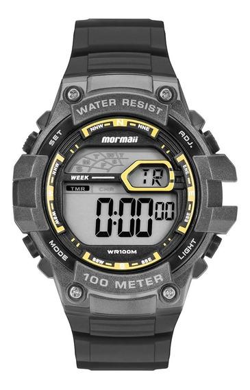Relogio Mormaii Mo3480ab/8y Aqua Pro Wr100m 2timer Alarm Nf