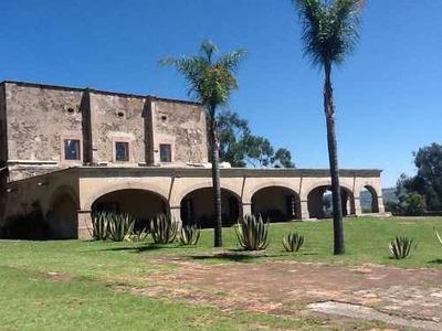 Hacienda En Venta Temascalcingo, Distrito Del Oro