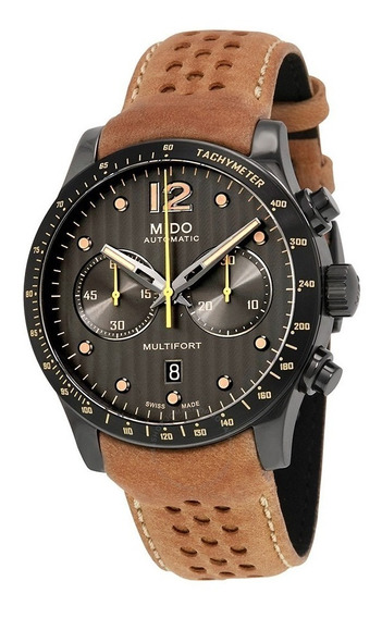 Relógio Mido Multifort Antracite M0256273606110 Automatico