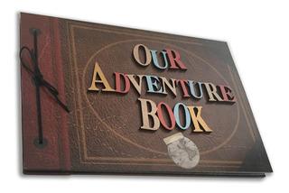 Album Para Fotos 50 Hojas - Our Adventure Book - Versión 3d