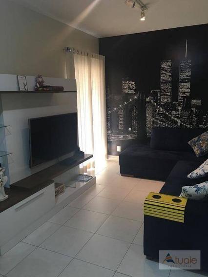 Apartamento Com 1 Dormitório À Venda, 56 M² Por R$ 365.000,00 - Cambuí - Campinas/sp - Ap5435