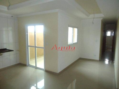 Apartamento Com 2 Dormitórios À Venda, 50 M² Por R$ 244.000,00 - Jardim Ana Maria - Santo André/sp - Ap0245