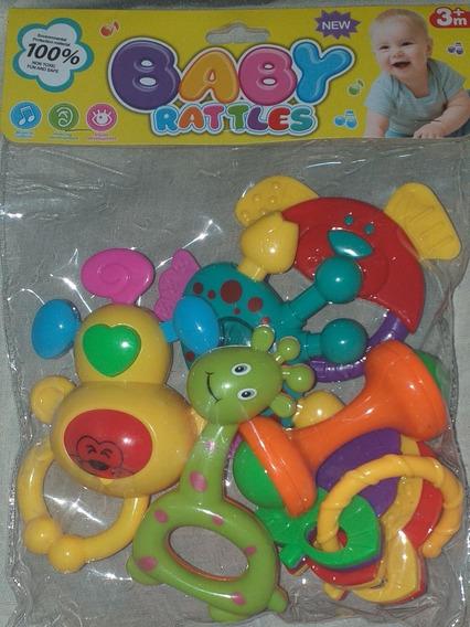 Sonajeros Baby Rattles