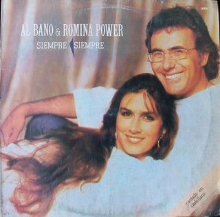 Al Bano Romina Power - Siempre Siempre Disco Vinilo Lp