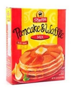 Massa Para Panqueca E Waffles Shoprite 907g