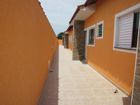 615-casa Nova Em Condomínio Com 2 Quartos 1 Suíte.