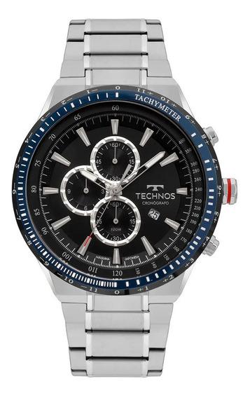 Relógio Technos Skymaster Masculino Prata Os10ez/1p