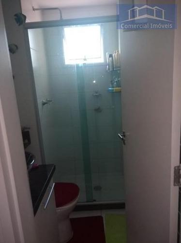 Apartamento Para Venda Em São Paulo, Campo Limpo, 2 Dormitórios, 1 Banheiro, 1 Vaga - Ap026_2-800648