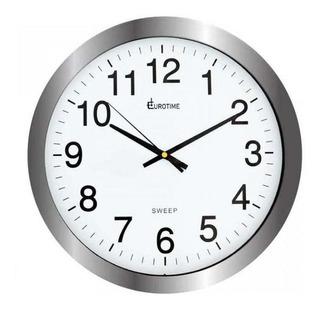 Reloj Pared Eurotime 27652.23 Metalizado