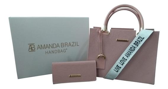 Bolsa Amanda Brazil (lorena) Com Alça Lateral Live Love