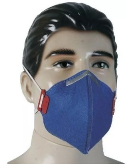 100pçs Mascara Respirador Semi Facial Pff1 S/ Valvula Para Pó E Fungos