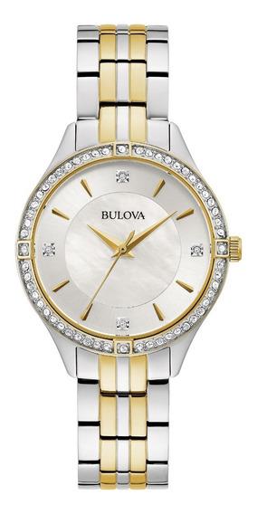 Reloj Original Bulova Cristales Bl98l273