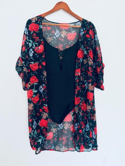 Kimonos Caribeños Vestido Salida Playa