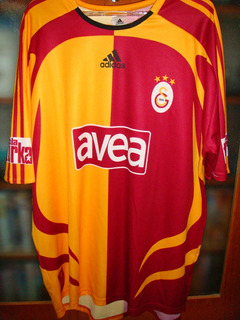 Camisa Galatasaray 2005 Segunda Categoria