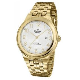Relógio Masculino Dourado Champion Ca21624h