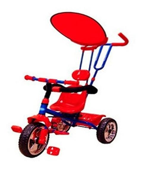 Triciclo Reforzado Niños Priori Rt9036 Capota Canasto