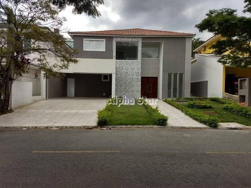 Casa Com 4suítes À Venda, 400 M² Por R$ 1.950.000 - Alphaville 12 - Santana De Parnaíba/sp - Ca3521