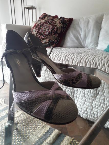 Zapatos De Taco Tipo Stiletto Gretaflora