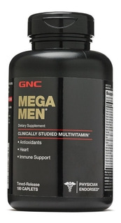 Multi Vitaminico De Hombres Gnc Mega Men ! Usa! 180 Caps. !