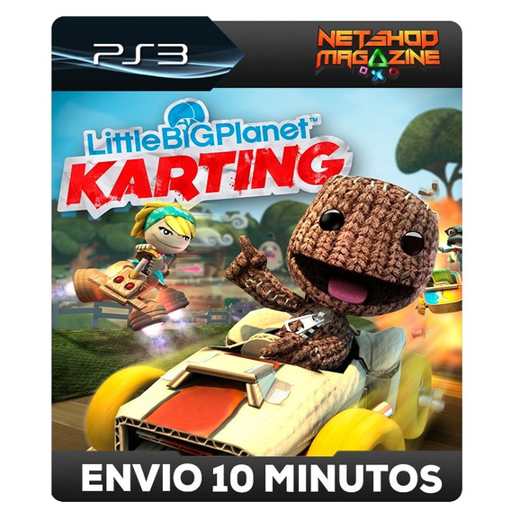 Littlebigplanet Karting - Psn Ps3 - Envo Imediato