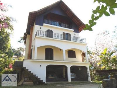 Casa Para Venda Em Nova Friburgo, Parque São Clemente, 5 Dormitórios, 2 Suítes, 5 Banheiros, 2 Vagas - 002
