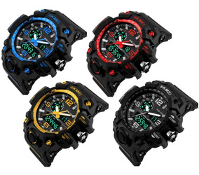 Relógio Masculino Skmei 1155 Esportivo Militar Prova D