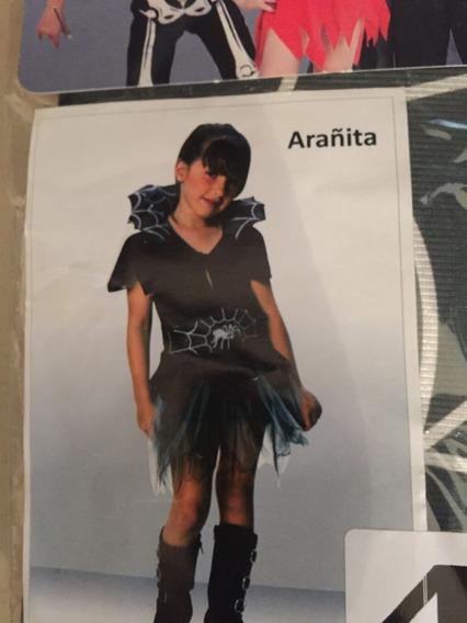 Disfraz Arañita Halloweenn Talle 1-marca Candela