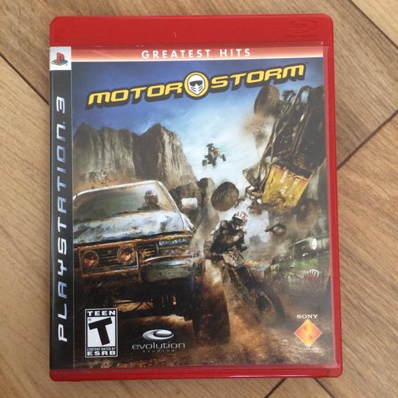 Ps3: Motor Storm - Greatest Hits - Mídia Física