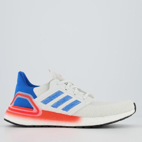 Tênis adidas Ultraboost 20 Branco E Azul