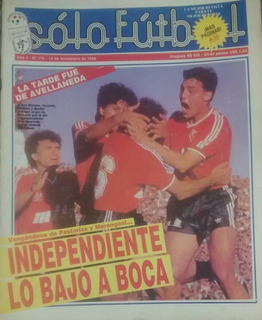 Revistas Solo Futbol,todos Los Años Consultar Numero,precio