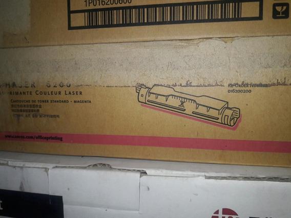 Black New Lot of 2 Genuine Xerox Toner For Phaser 6200 016200400