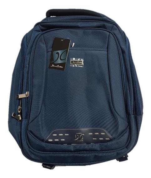 Mochila Jean Cartier Urbana Portanotebook Premium Nuevas !!!