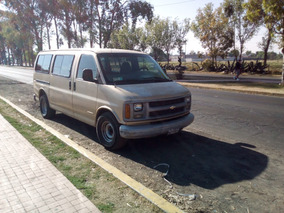 Chevrolet Express Van 2001 Excelente Oportunidad
