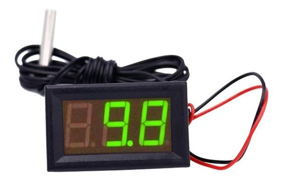 Termômetro Digital Automotivo 12v 50~110ºc Ônibus Caminhão