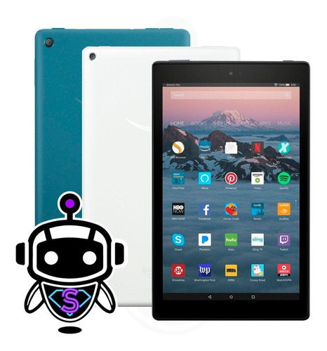 Imagen 1 de 9 de Tablet Amazon Fire Hd 10 2gb Ram 32gb + Alexa = Samsung Tab
