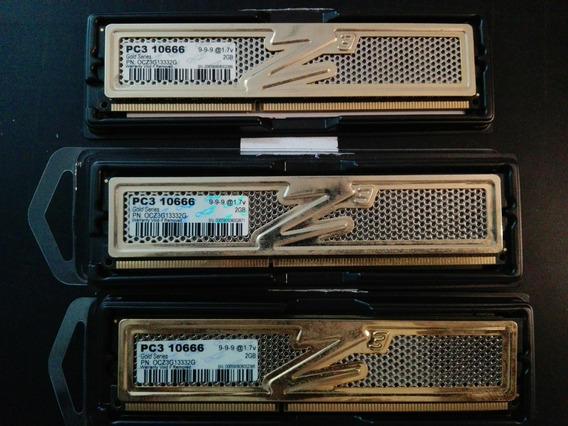 Memoria Ocz Ddr3 2gb Pc3 10666 X 3