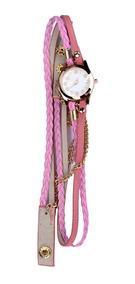 2 Relógio Masculino Feminino Luxo Pulseira Em Couro