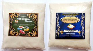 03 Unds Sal Integral Marinho - Pcts De 1kg