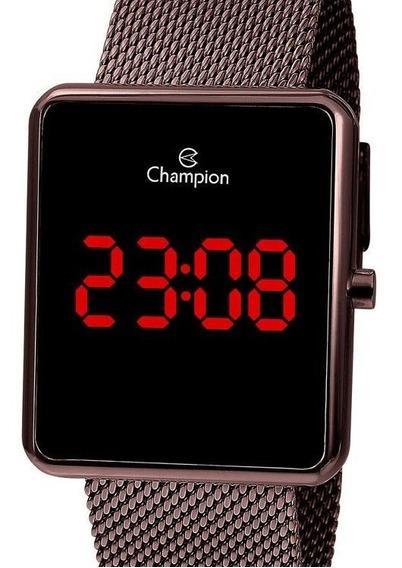 Relógio Champion Feminino Digital Quadrado Ch40080o