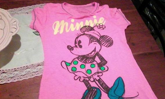 Remera Nena Original Disney Minnie Talle L