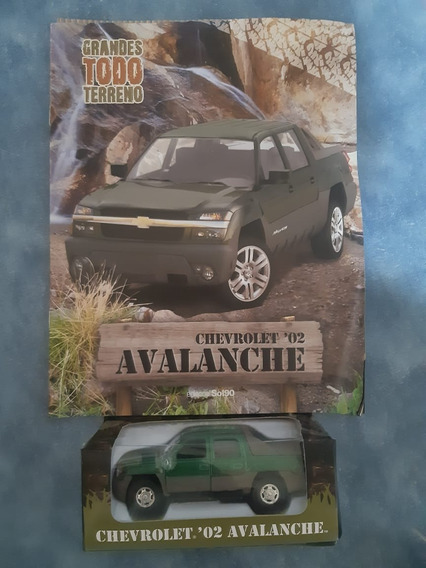 Chevrolet Avalanche 2002 - Welly 1:36:38 - Todo Terreno