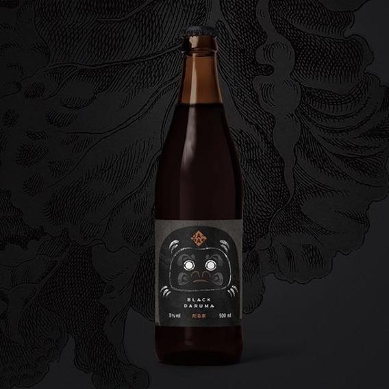 Cerveja Japas Black Daruma 500ml