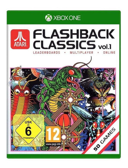 Atari Flashback Classics Vol 1 Xbox One Mídia Física Lacrado