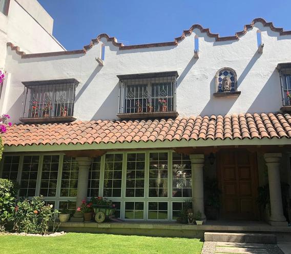 Bonita Casa En Renta En San Angel