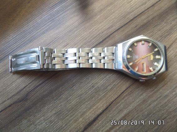 Relógio Orient Jf Automático Antigo Com Embalagem Cavedar