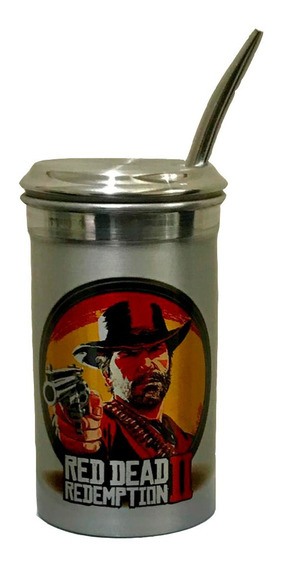 Cuia De Tereré 400ml Red Dead Redemption 2