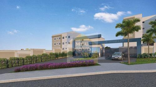 Apartamento Com 2 Dormitórios À Venda, 38 M² Por R$ 155.000,00 - Tindiquera - Araucária/pr - Ap0435
