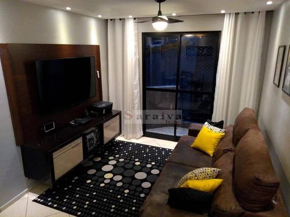 Apartamento Com 2 Dormitórios À Venda, 50 M² Por R$ 218.000 - Jardim Irajá - São Bernardo Do Campo/sp - Ap1073