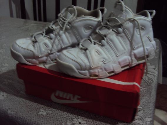 Tênis Nike Air More Uptempo Ano 96 Original Branco 42