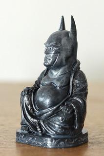 Buda Batman - 7 Cms - Adorno | Figura | 3d | Dc | Foto Real